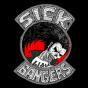 Logo empresa: sick bangers, metal label & distro