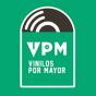 Logo empresa: vpm vinilos por mayor (providencia)