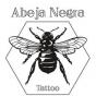 Logo empresa: abeja negra tattoo