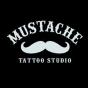 Logo empresa: mustache tattoo studio