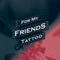Logo empresa: for my friends tattoo studio