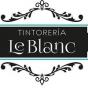 Logo empresa: tintorería le blanc