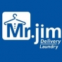 Logo empresa: mr. jim delivery laundry