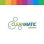 Logo empresa: lavandería cleanmatic