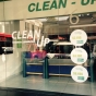 Logo empresa: lavaseco clean up chile