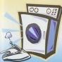 Logo empresa: lavanderia mgm