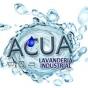 Logo empresa: acua lavanderia industrial