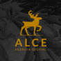 Logo empresa: alce agencia digital