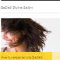 Logo empresa: sadeli divine salon unisex