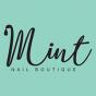 Logo empresa: mint nail boutique