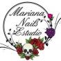 Logo empresa: mariana nails estudio