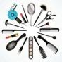 Logo empresa: atelier studio peluquería