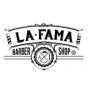 Logo empresa: la fama, barbershop