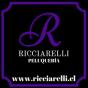 Logo empresa: ricciarelli, peluquería