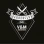 Logo empresa: barber club v&m