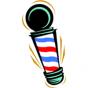 Logo empresa: imperios, escuela de barbería