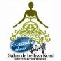 Logo empresa: kcml karaoke, salón de belleza