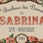 Logo empresa: sabrina, bonheur des dames