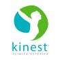 Logo empresa: kinest, clínica estética