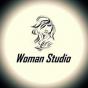 Logo empresa: woman studio, salón de belleza