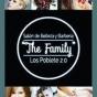Logo empresa: the family, salón de belleza y barbería