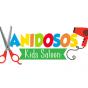 Logo empresa: vanidosos, peluquería infantil