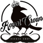 Logo empresa: royal crows barber shop