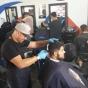 Logo empresa: barbería club urbano