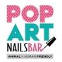 Logo empresa: popart nails bar