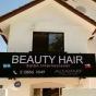 Logo empresa: beauty hair salón internacional