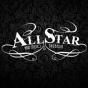 Logo empresa: all star hair studio y barberia