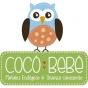 Logo empresa: cocó bebé pañales ecológicos