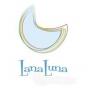 Logo empresa: lanaluna bebes y niños