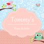 Logo empresa: ropa de bebé tommy s