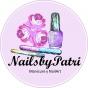 Logo empresa: nails by patri