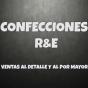 Logo empresa: confecciones r&e