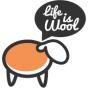 Logo empresa: life is wool tienda on line