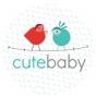 Logo empresa: cute baby tienda on line