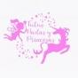Logo empresa: tutus, hadas y princesas