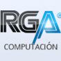 Logo empresa: rga computación