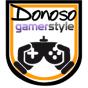 Logo empresa: donoso, videos juegos