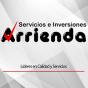 Logo empresa: arrienda, computadores y servicios