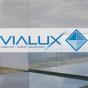 Logo empresa: vialux imagen & diseño