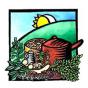 Logo empresa: el huerto