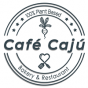 Logo empresa: café cajú. 100% plant based bakery & restaurant