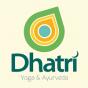 Logo empresa: dhatri, yoga & ayurveda