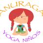 Logo empresa: taller yoga para ninos anuraga