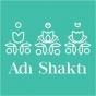 Logo empresa: adi shakti. yoga y cafe