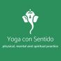 Logo empresa: yoga con sentido