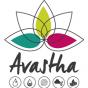 Logo empresa: avastha, ashtanga yoga & ayurveda